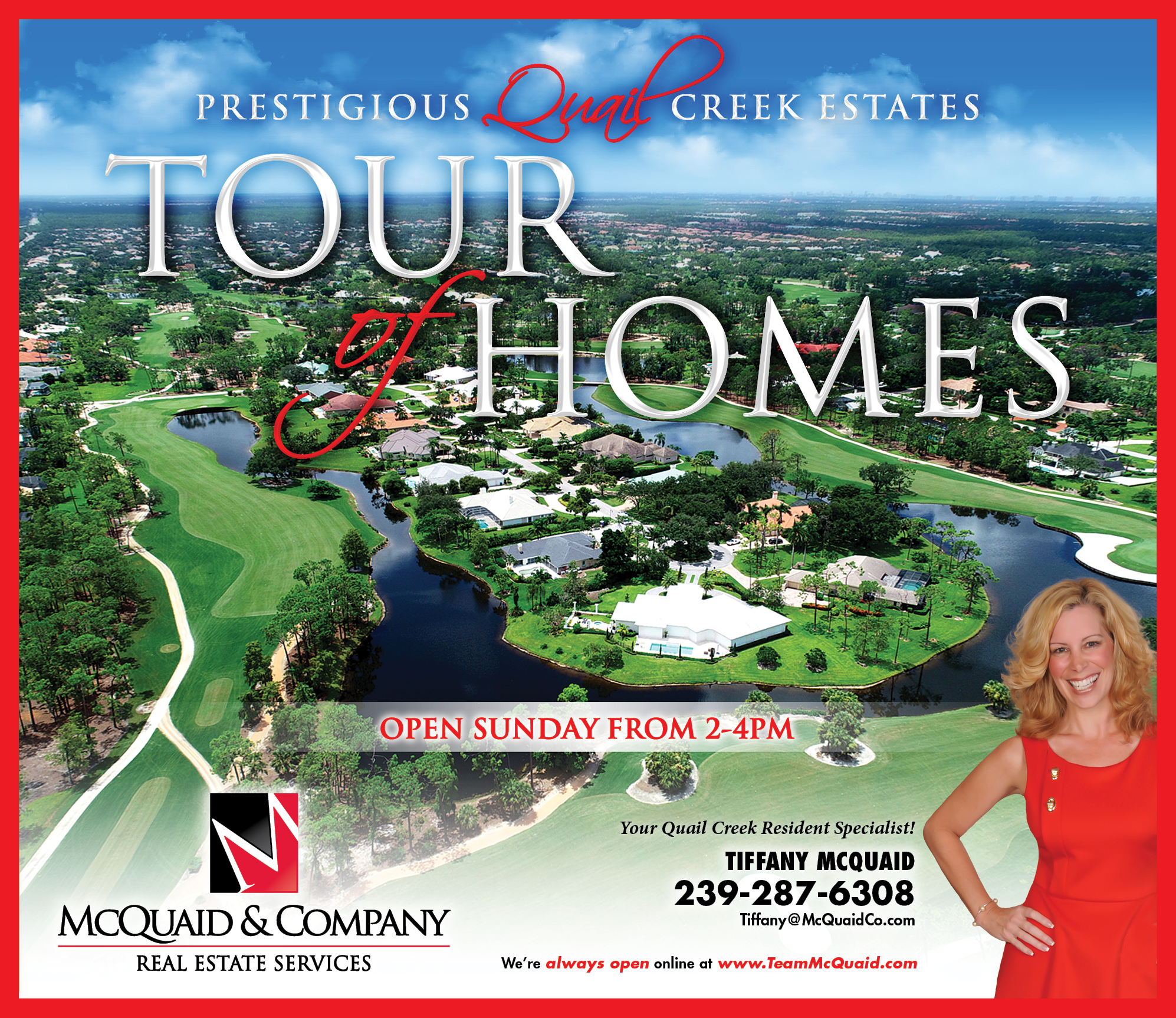 QUAIL CREEK ESTATES TOUR OF HOMES