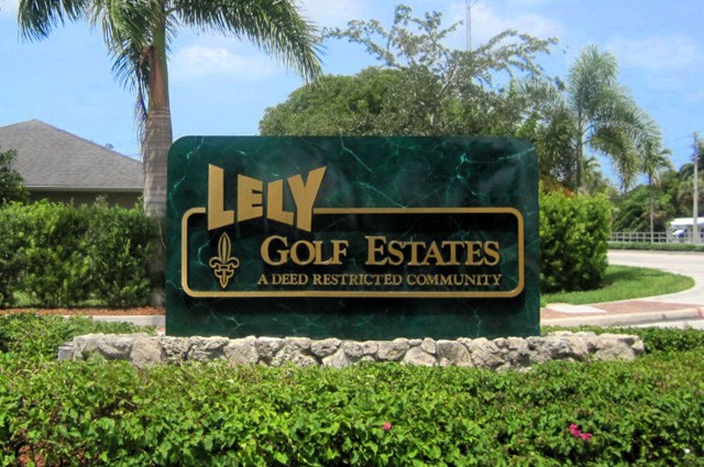 Lely Golf Estates, Naples, Florida Real Estate